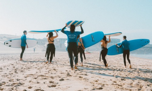 Surf camps are fashionable