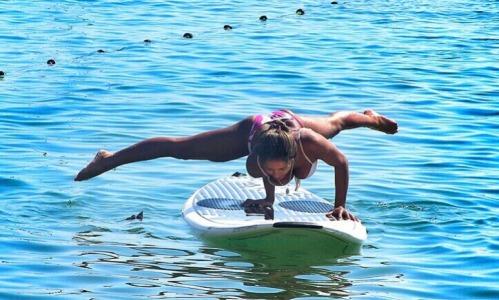 SUP yoga, el deporte de moda