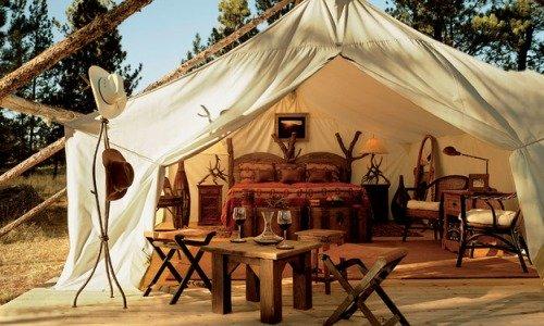 Gampling: glamour + camping