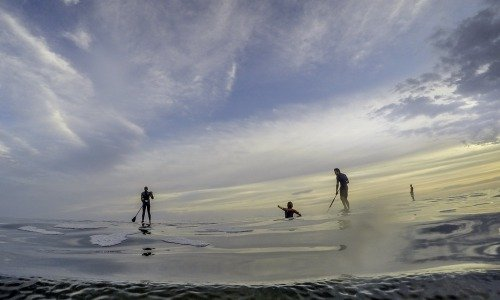 Benefits of paddle surfing